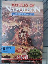 Battle of Napoleon - A construction set IBM PC SSI Strategic Simulations Inc NEW