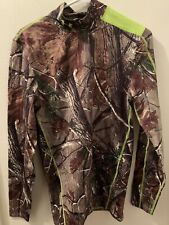 Under Armour UA New Men's Realtree Coldgear Infrared Long sleeve camo shirt Med