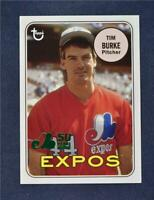 2019 Topps Archives 50th Ann of the Expos Green #MTL-TB Tim Burke /99