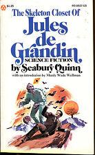 The Skeleton Closet of Jules de Grandin-Seabury Quinn-Popular Library 1st Ed.