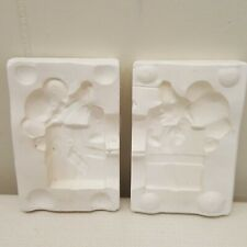 Alberta Slip Casting Mold Mouse Christmas Present Ceramic Craft Pouring A168