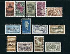 CYPRUS 1962 definitives set complete (Scott 206-18) VF MNH
