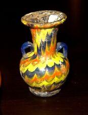 AMPHORISQUE EN VERRE FORME AU NOYAU - 600 BC GREEK CYPRUS CORE GLASS AMPHORISKOS