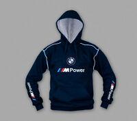 Neu BMW M power Herren Sweatshirt m. kapuze mit gestickte logos, Schwarz, S-3XL