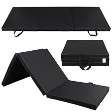 Heavy Duty 112'' Folding Mat Thick Foam Fitness Exercise Gymnastics Panel Gym