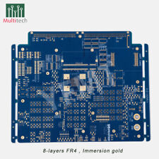 FR4 Prototype 4-6 Layers PCB Manufacture Etching Fabrication Customized Service
