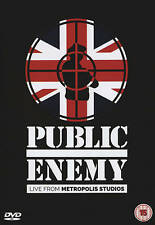 Public Enemy: Live from Metropolis Studios (DVD, 2015)