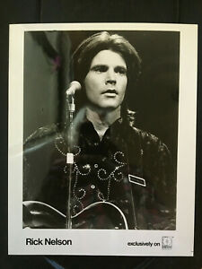 Rick Nelson original vintage press headshot photo #4