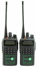 VERTEX VX459 UHF 4 WATT WALKIE-TALKIE 2-WAY RADIOS x 2 SECURITY PUBS CLUB RETAIL