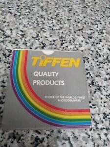 TIFFEN Vintage Filter Step Up Ring - 52mm to 58mm - w/Original Box - Excellent!