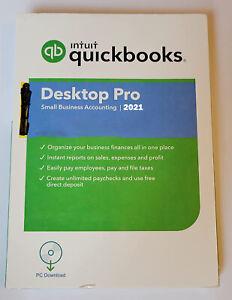 Intuit Quickbooks Desktop Pro 2021 Accounting Software Lifetime Subscription