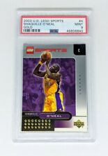2002-03 Upper Deck Lego Sports Gold #4 Shaquille O'Neal PSA MINT 9 Lakers HOF