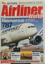 Airliner World March 2017 Bienvenue 787 Air France's Dreamliner FREE SHIPPING sb
