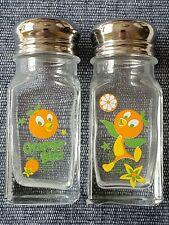 Disney World Florida Orange Bird Salt & Pepper Shaker Set of 2 Nwt