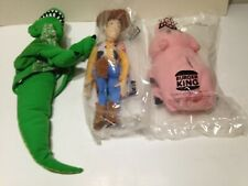 Burger King Happy Meal 3 Toys Figurines 1990s
