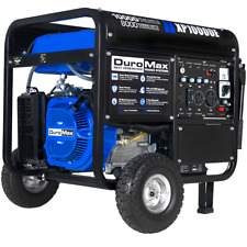 DuroMax XP10000E 10000W 18-Hp Portable Gas Electric Start Generator Home Standby