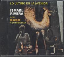 CD Mega RARE Fania FIRST PRESSING Ismael Rivera & Kako LO ULTIMO EN LA AVENIDA