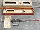 "Vintage Irwin Micro Dial Expansive Wood Bit No. 22 Large 7/8""- 3"" Original Box"
