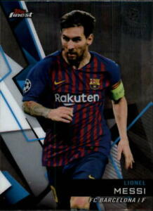 2018-19 Topps Finest UEFA Champions League Soccer Base Singles (Pick Your Cards)