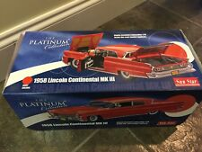 1:18 Die Cast Sun Star Platinum Collection 1958 Lincoln Continential MKIII