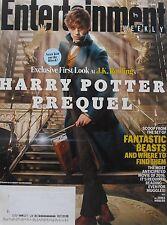 Harry Potter Prequel Eddie Redmayne Nov. 2015 Entertainment Weekly