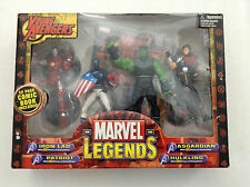MARVEL LEGENDS YOUNG AVENGERS FIGURE BOXSET 4-PACK ASGARDIAN HULKLING PATRIOT 12