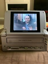Audiovox VBP2000 Portable VHS Player With Car , Home Adapters & Carry Bag