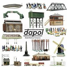 Dapol Plastic Model Building Kits OO HO Gauge Scale Railway Track Side Figures