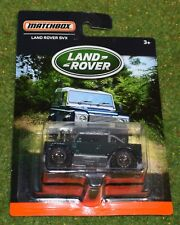 DIE CAST METAL MATCHBOX LAND ROVER SVX