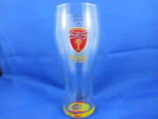 Budweiser Beer Glass from FIFA WORLD CUP BRAZIL 2014 SPAIN'S FLAG