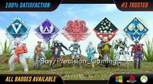 Apex Legends GENUINE 20 Kill Badge And/Or 4k Damage Badge ** PC XBOX PS4 PS5