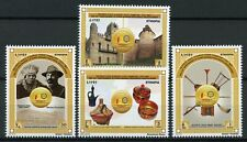 Ethiopia Architecture Stamps 2018 MNH Diplomatic Relations with Russia 4v Set