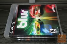 Blur (PlayStation 3 PS3 2010) FACTORY SEALED! - RARE! - EX!