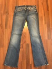 Women's 7 for all Mankind A Pocket Flare Leg Jeans Size 29 STYLE AU130y525C  New