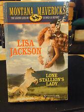 Montana Mavericks:  Lone Stallion's Lady Bk. 1 by Lisa Jackson (2000, Paperback)