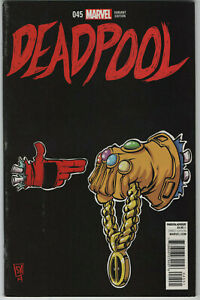 MARVEL DEADPOOL #45 RUN THE JEWELS SKOTTIE YOUNG VARIANT Death of Deadpool