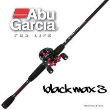 "Abu Garcia Combo Black Max Rod 5'6"" 6-8kg 1pc Black Max 3 Reel 2015 NEW RELEASE"