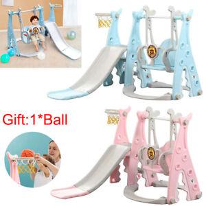 Toddler Garden Climber Slide Play Swing Set Kids Indoor/Outdoor Playground Toy