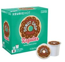 The Original Donut Shop Regular Keurig 18 Count K-Cups Box Medium Roast Coffee