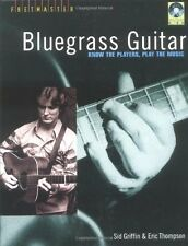 """BLUEGRASS GUITAR"" KNOW THE PLAYERS, PLAY THE MUSIC-BOOK/CD-BRAND NEW ON SALE!!"