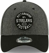 NEW Pittsburgh Steelers New Era Charcoal/Black 2019 NFL Sideline Flex Hat L/XL
