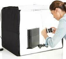 "Photo Studio Box Portable Foldable with LED Light 25 x 30 x 25"" Collapsible NEW"