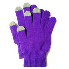 Muvit Touch Screen Gloves Handschuhe MUHTG0015, Size M, violett, lila, Blister