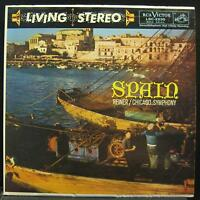 FRITZ REINER spain LP VG+ LSC-2230 Living Stereo WD USA Vinyl 1962 Record