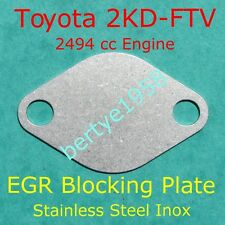 EGR blanking plate 2.5L 2KD-FTV Hilux Hiace Fortuner Innava 2494cc 4Runner Block