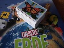 REWE UNSERE Erde 15 Sticker zum auswählen * Aus ca. 130 Bildern 15 aussuchen