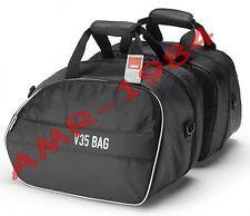 PAIR BAGS INTERNAL SOFT black for bags GI.VI V35 e KAPPA K33 T443B