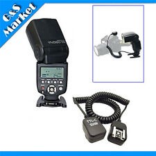 Yongnuo YN560III Flash light+3M 3 meter E-TTL Off Camera FLASH sync Cord f Canon