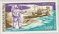 MALI 1972 332 C156 US Apollo 16 Moon Mission Astronaut Lunar Rover Mondauto MNH