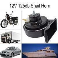 12V 110-125db Loud Waterproof Snail Horn For Car Motorcycle Boat Truck Van